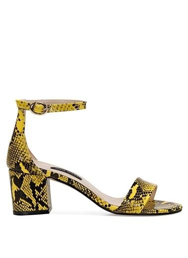 Nine West Sandalet Sarı
